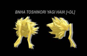 [MMD] BNHA Toshinori Hair [+DL] by Lemmoni