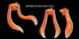 [MMD] Yansim Osana Najimi Hair [+DL] by Lemmoni
