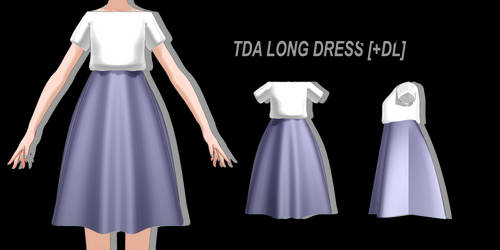 [MMD] Cute Casual Dress [+DL]