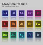 Adobe Creative Suite Vector Icons