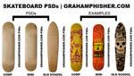 Skateboard PSDs