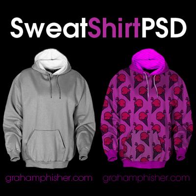 Sweat Shirt PSD