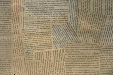 Ripped Up Magazine Texture by GrahamPhisherDotCom