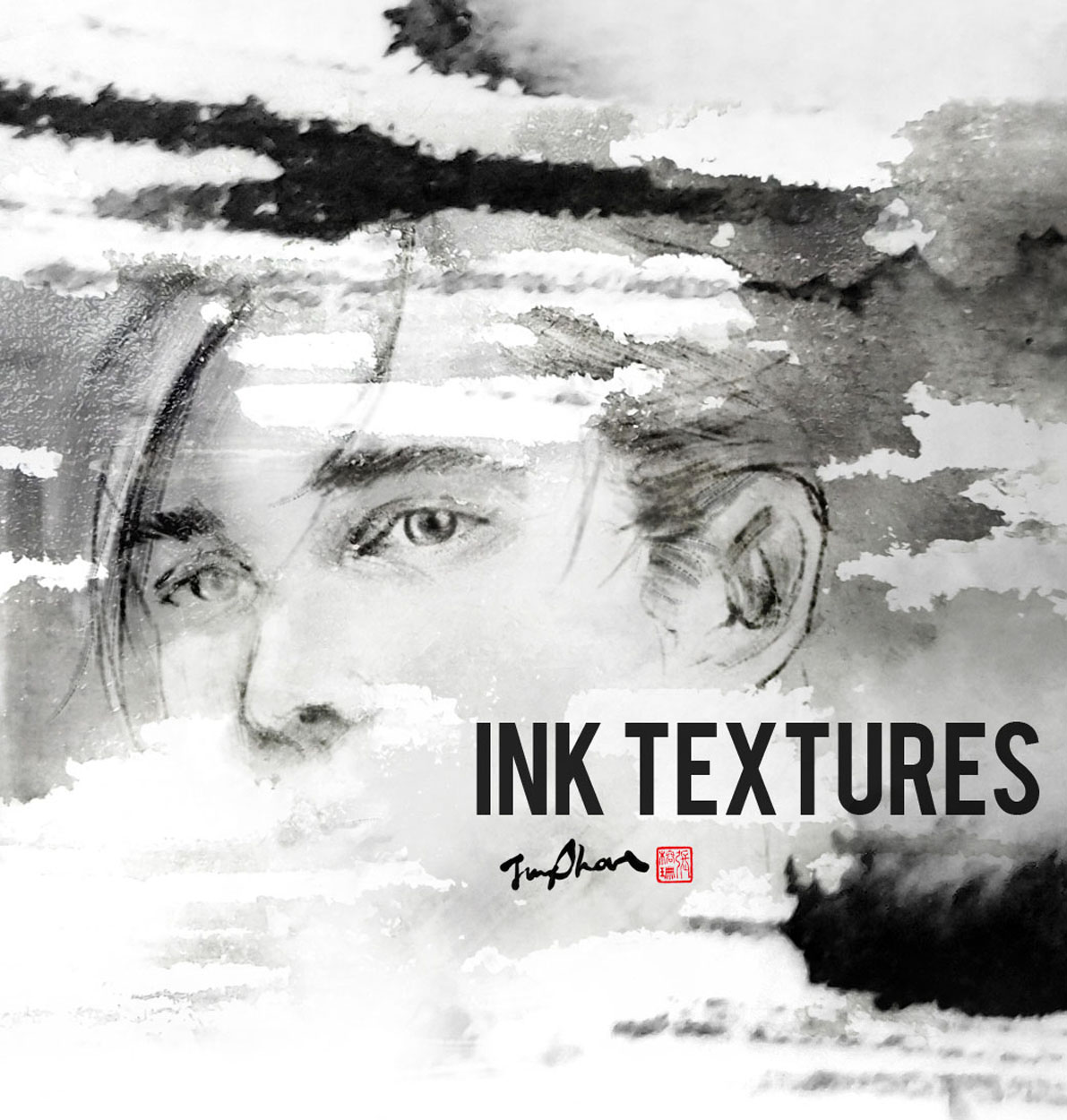 Ink Textures III by Jungshan