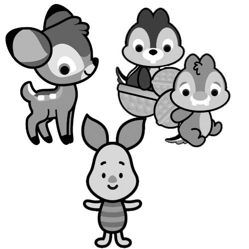 Großzügig Disney Cuties Eeyore Malvorlagen Ideen - Ideen färben ...