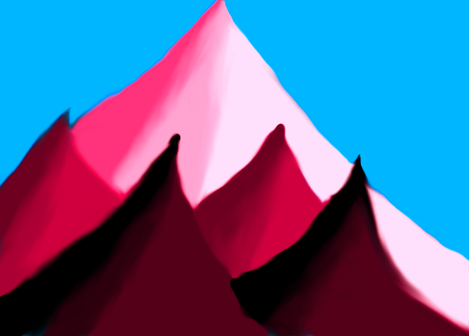 Purple Mountains by racketify