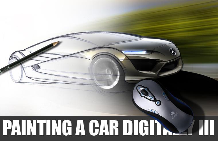 Painting a Car Digitally III.I