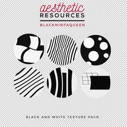 Black and White Texture Pack by aestheticrsc