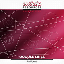 Doodle Lines Brushes by aestheticrsc