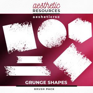 Grunge Shapes Brushes Pack