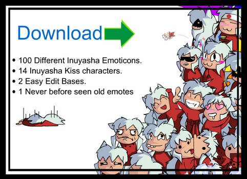 Inu Emoticon Full Collection Download
