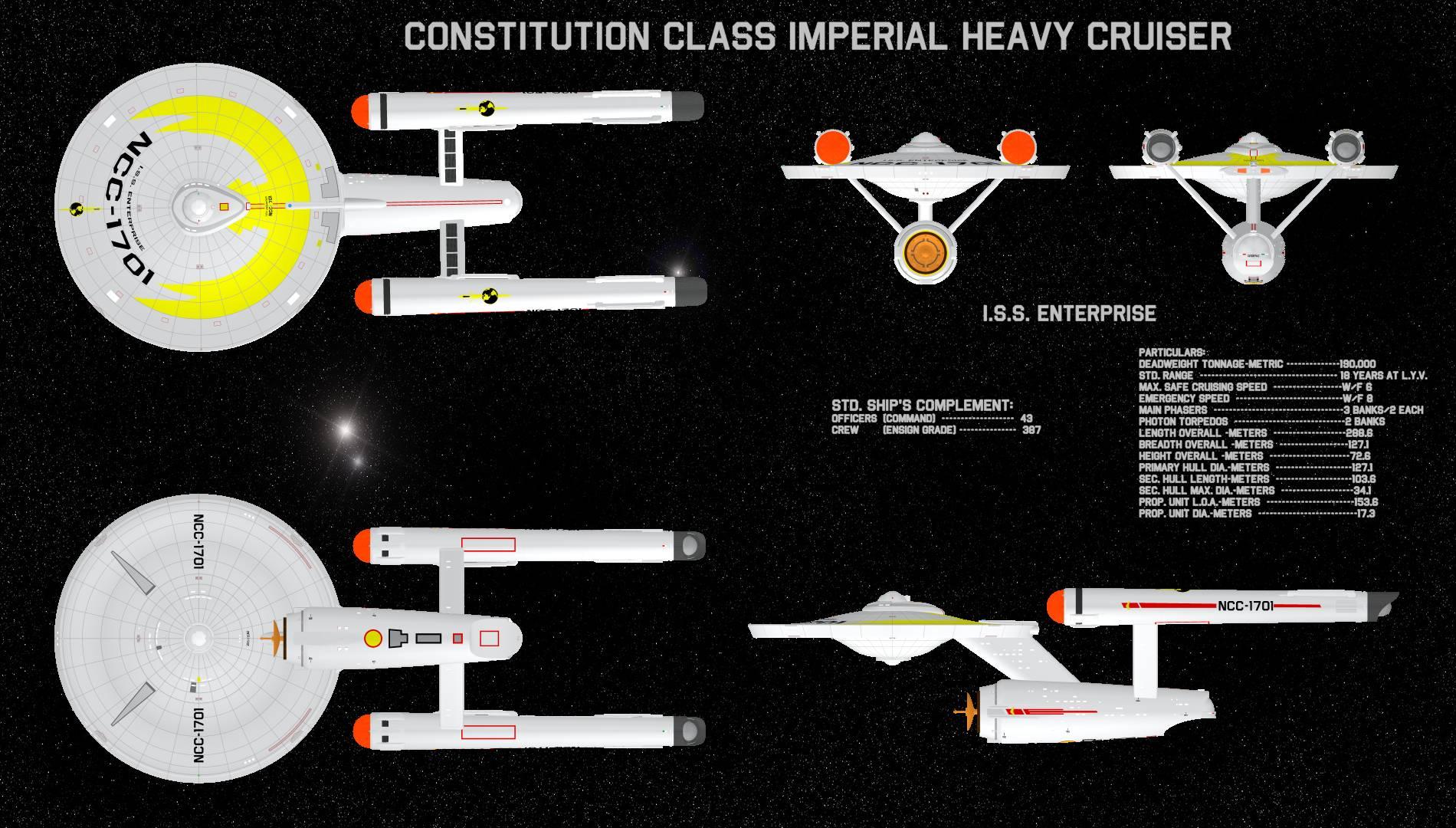 ISS Enterprise - PP2 and OBJ by Greywolf-Starkiller