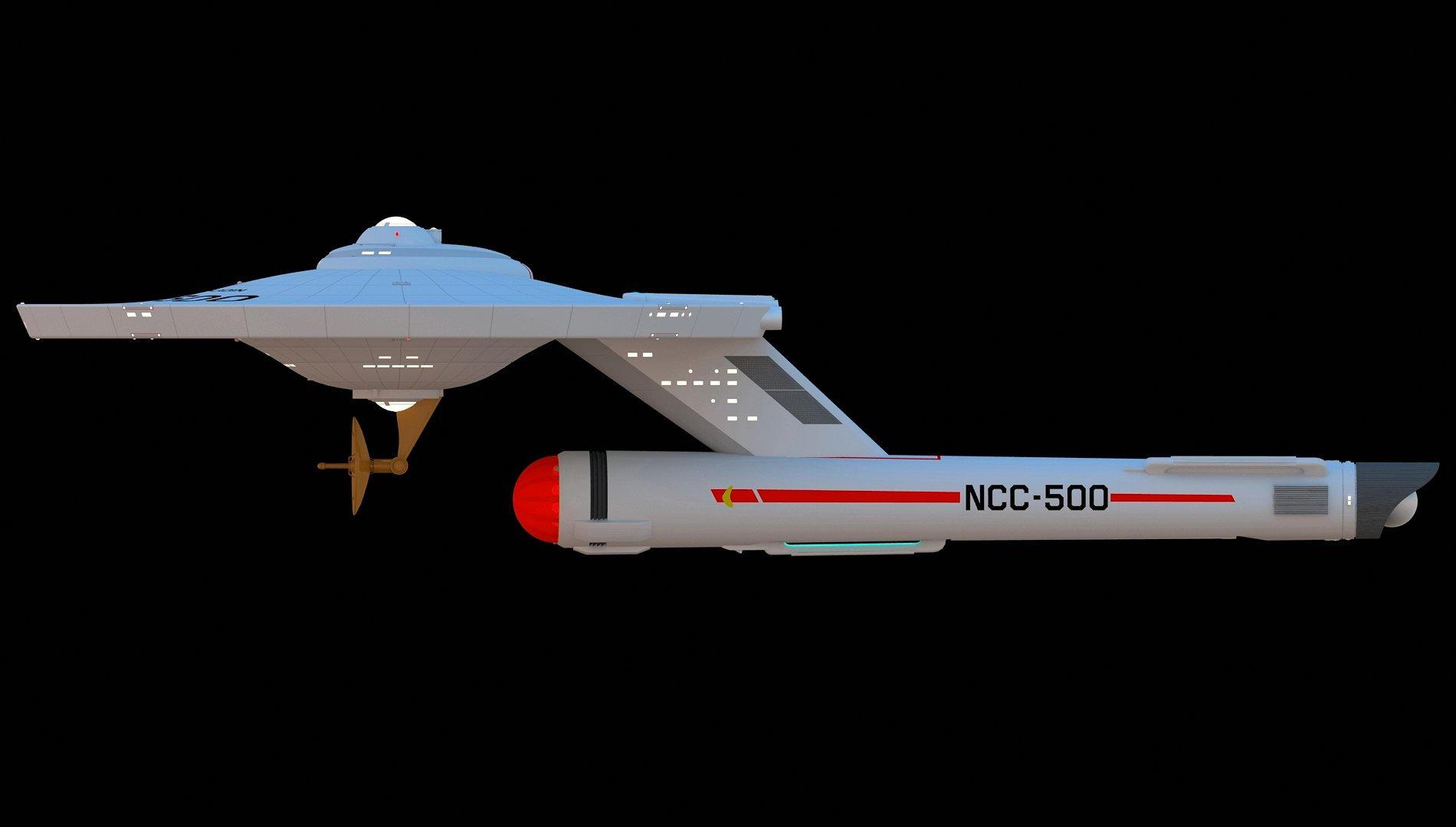 Saladin Class Destroyer PP2 199019118 on Star Trek Starship Parts