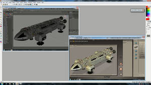 Eagle One in Poser and DS format