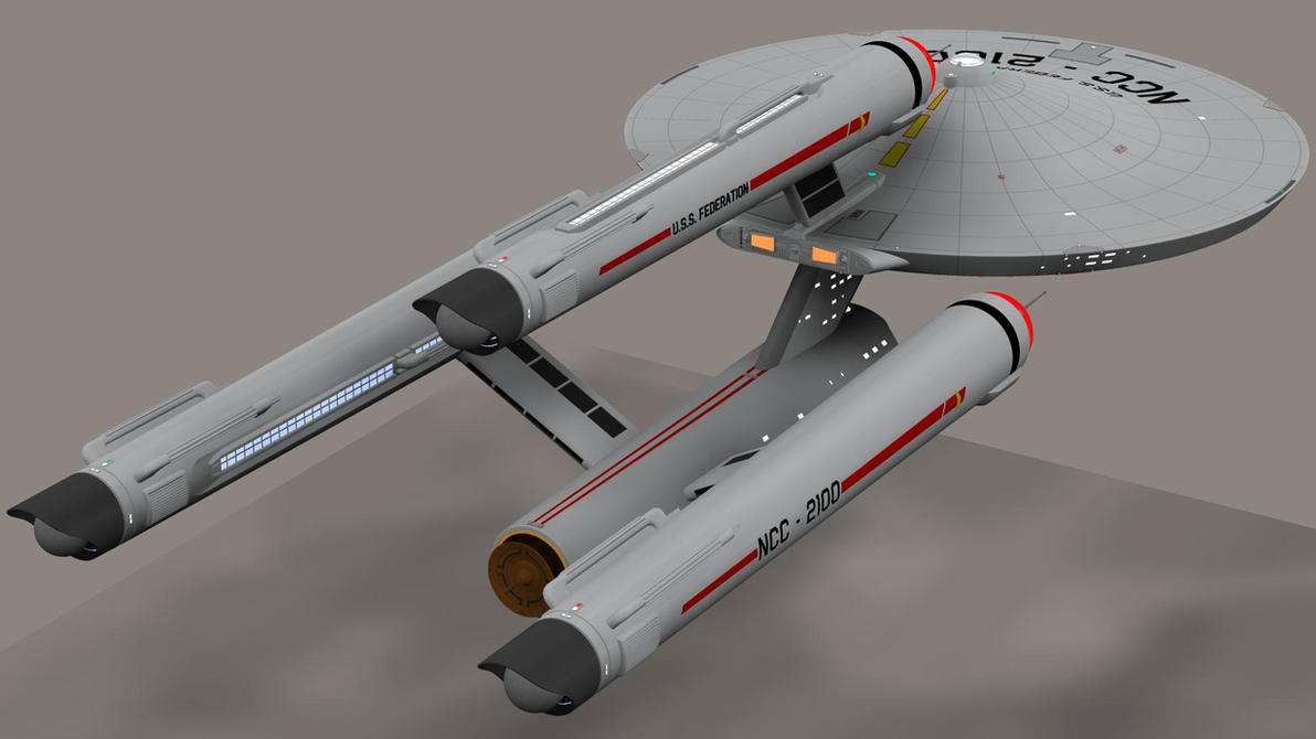 USS Federation by Greywolf-Starkiller