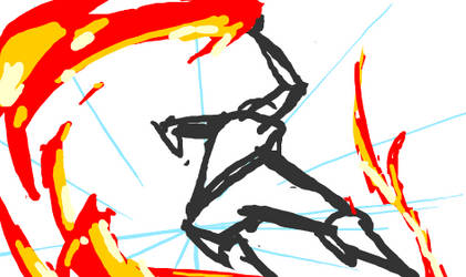 fire bending by Guts-N-Effort