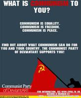 CPDA 18x22 Propaganda Poster by communism