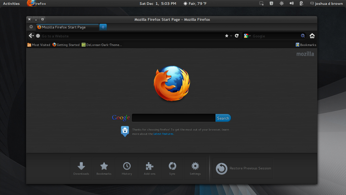 how to refresh firefox browser