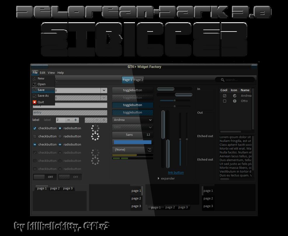 DeLorean-Dark-Stripped-Themes-3 8 10042013 by killhellokitty on