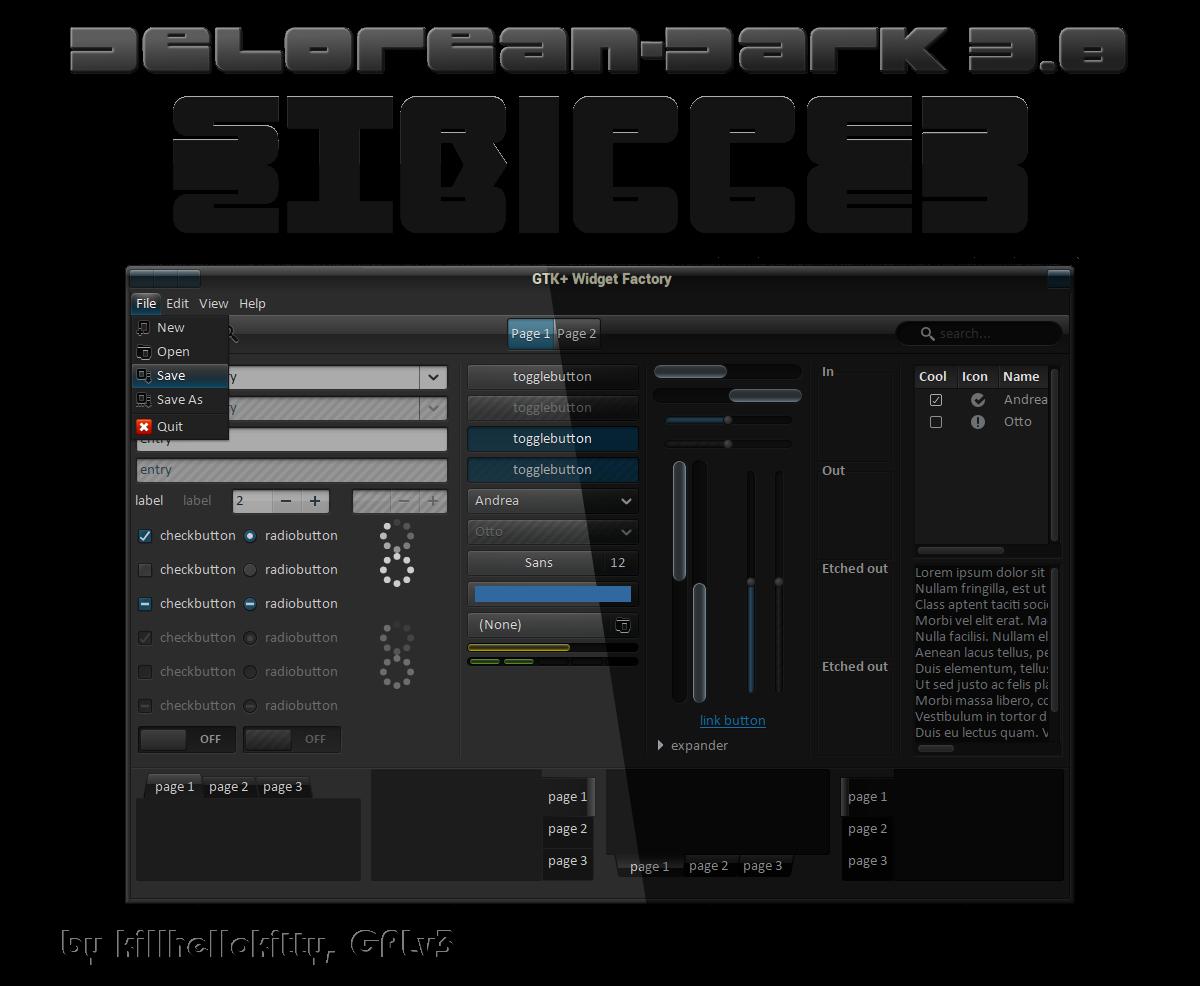 DeLorean-Dark-Stripped-Themes-3.8 10042013 by killhellokitty