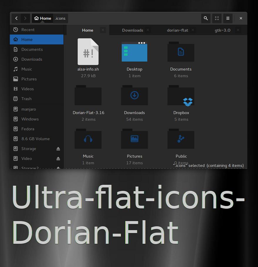 Ultra-flat-icons-dorian-flat by killhellokitty