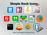 Simple Dock Apps Icons