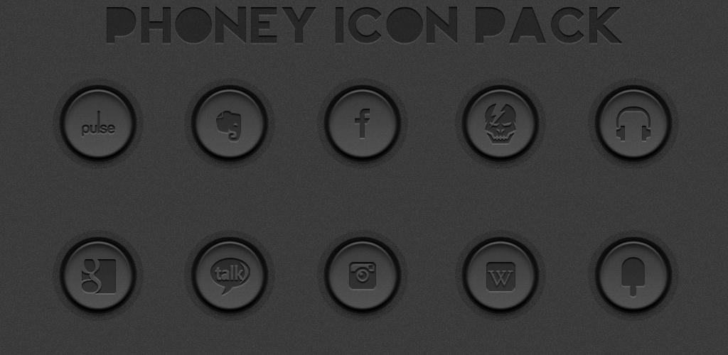Phoney Icon Pack by sammyycakess