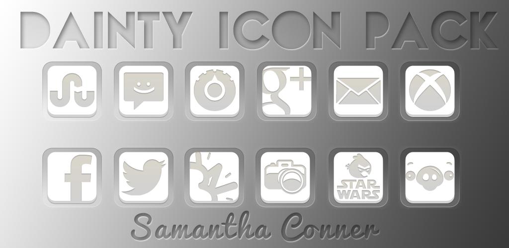 Dainty Icon Pack/Apex Theme by sammyycakess