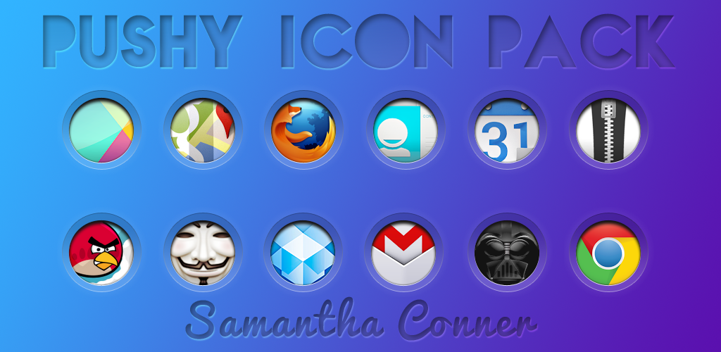 Pushy Icons/Theme by sammyycakess