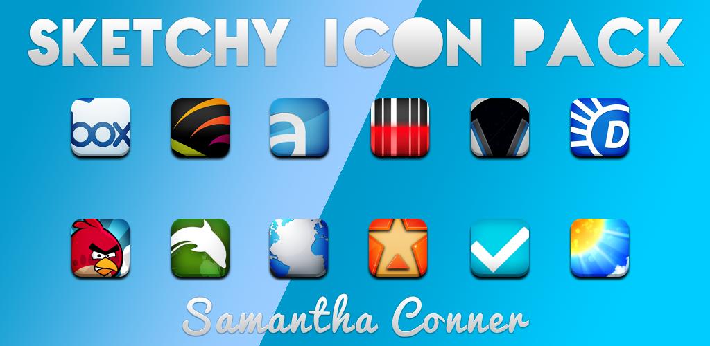 Sketchy Icons/Theme by sammyycakess