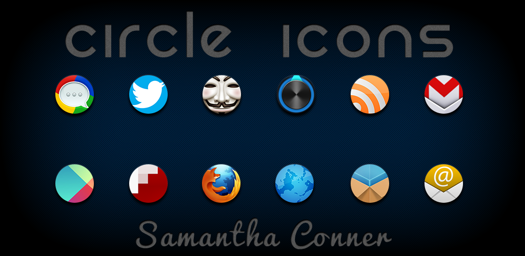Circle Icons by sammyycakess