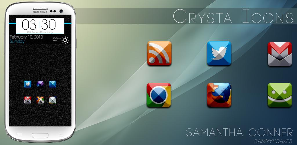 Crysta Icons by sammyycakess