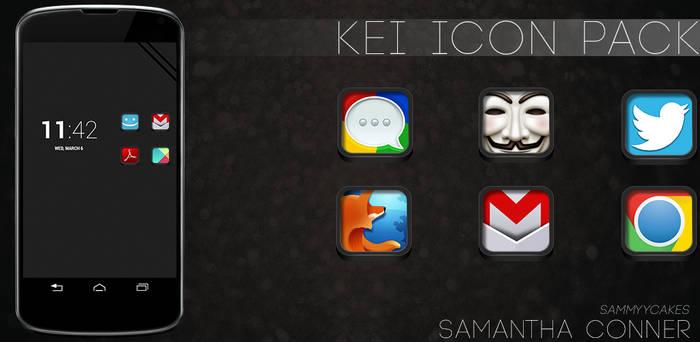 Kei Icon Pack by sammyycakess