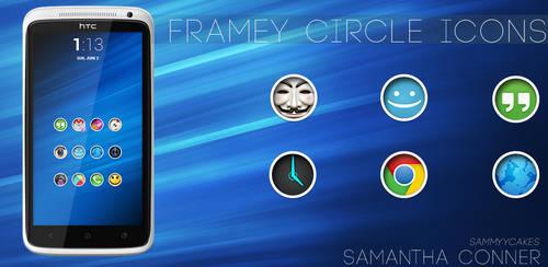Framey Circle Icons