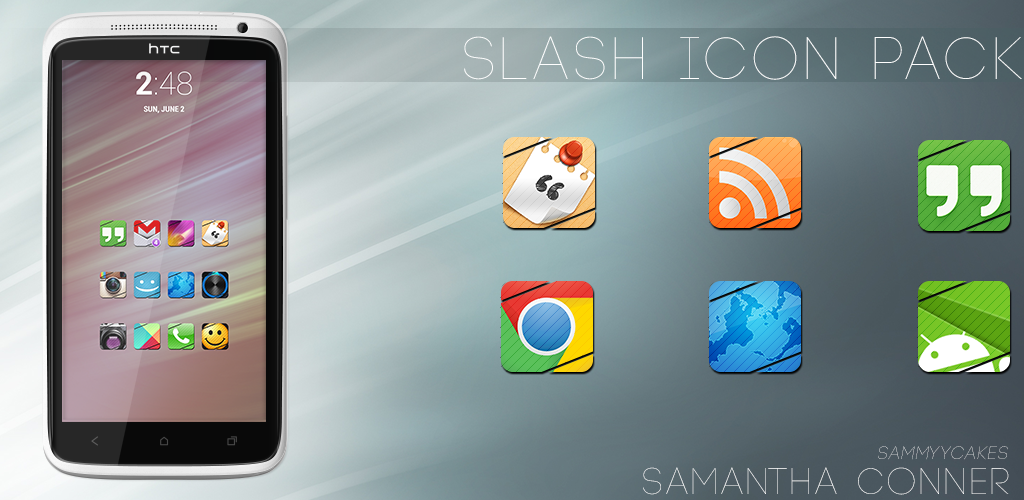 Slash Icon Pack by sammyycakess