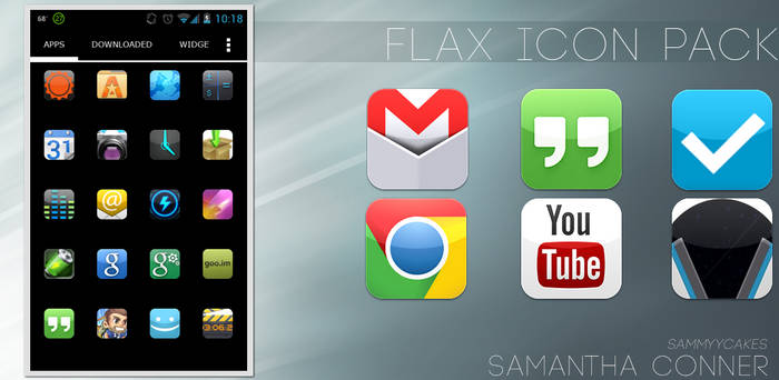 Flax Icon Pack