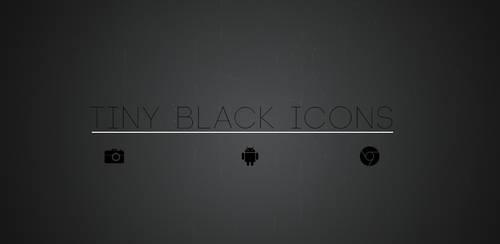 Tiny Black Icons
