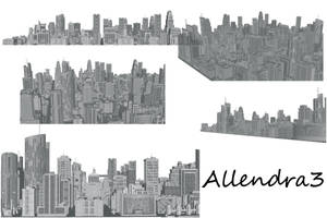 Skyscraper Brushes by Allendra3