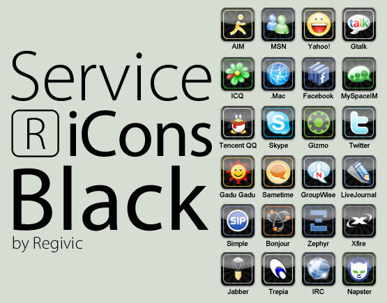 Service RiCons Black by Regivic