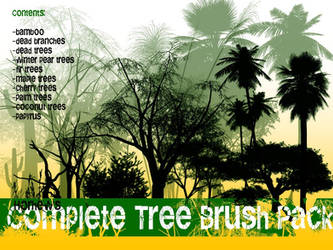 Complete Tree Brush Pack by Horhew