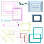 Squares Brushes