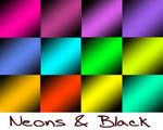 Neon N Black