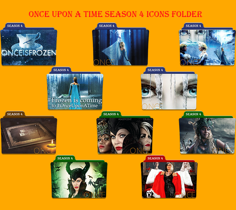 Once upon a time Season 4 Icons Folder by Aliciax16 on