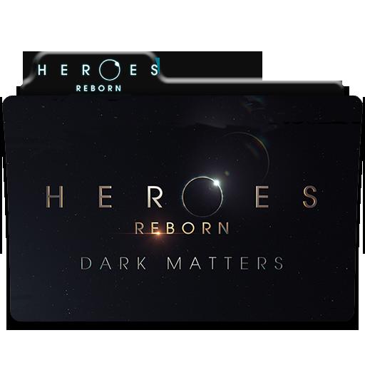 Heroes reborn dark matters icons folder by aliciax16 on deviantart