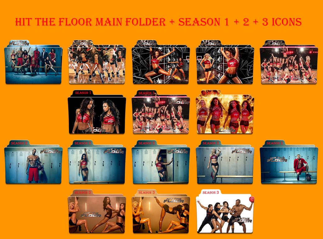 Hit the floor main folder season 1 2 3 icons by for 1 2 3 floor