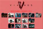 Vikings Main Folder + Season 1 to 4 Icons by Aliciax16