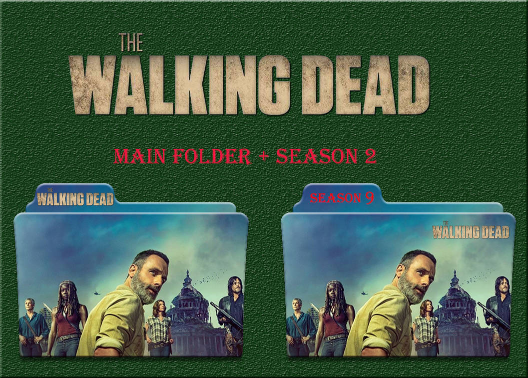 The Walking Dead Season 9 Folder Icon Walk Images And Picture