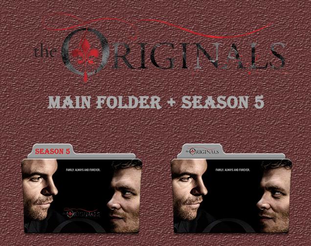 The Originals Main Folder + Season 5 Icons by Aliciax16 on DeviantArt