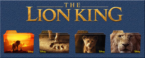 The Lion King Movie Icons by Aliciax16