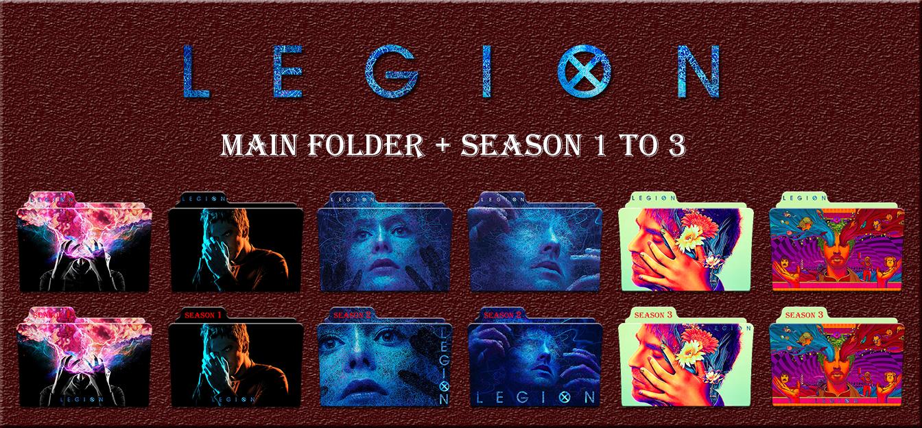 Legion Main Folder + Season 1 To 3 Icons by Aliciax16 on DeviantArt
